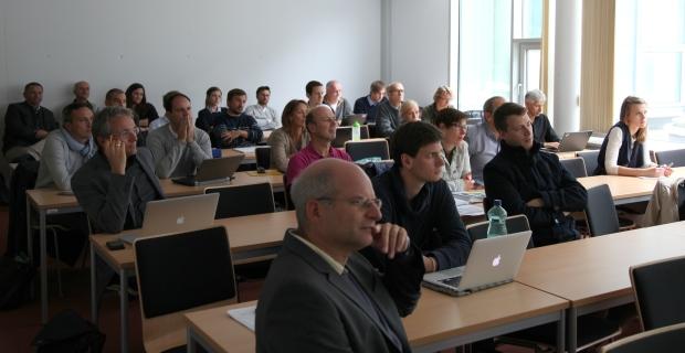 Das Projekt GISMO wird einer interessierten (Fach-) Öffentlichkeit vorgestellt.